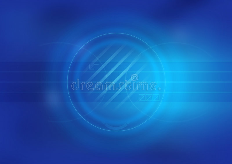 голубо иллюстрация штока