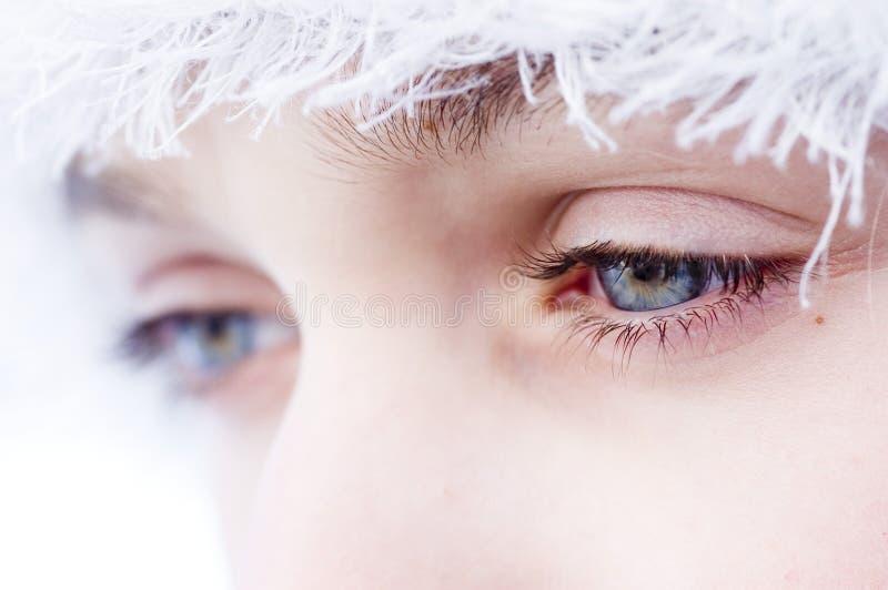 Download голубые глазы стоковое изображение. изображение насчитывающей женщины - 481523