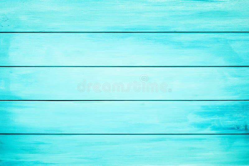 Голубые деревянные доски как предпосылка стоковое фото