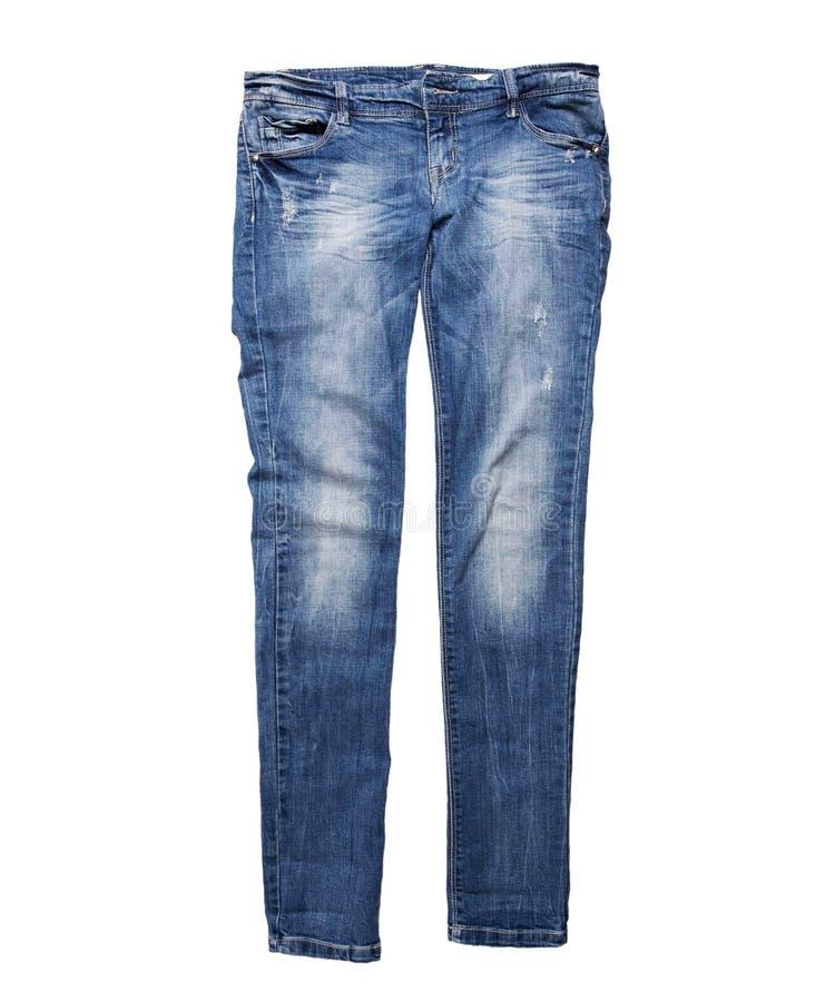 голубые джинсы стоковые изображения