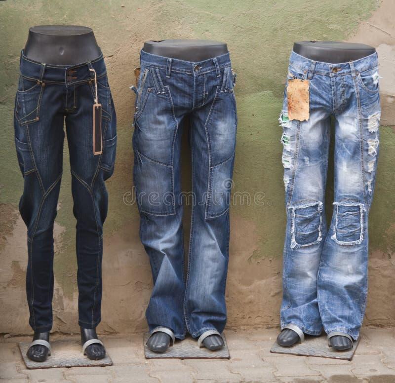 голубые джинсы стоковые фотографии rf
