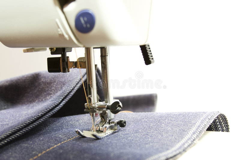 голубые джинсы стоковая фотография rf