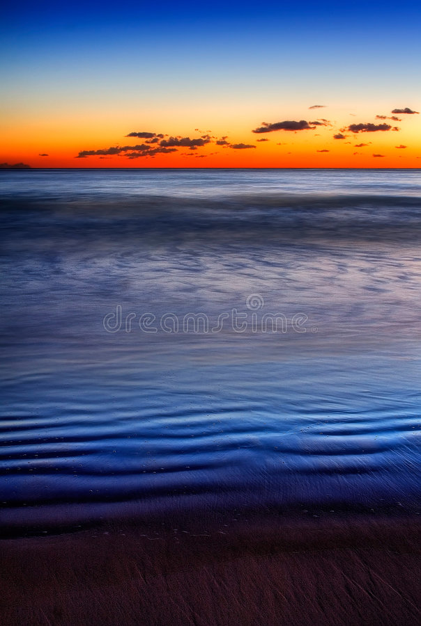 голубые дюны стоковые изображения