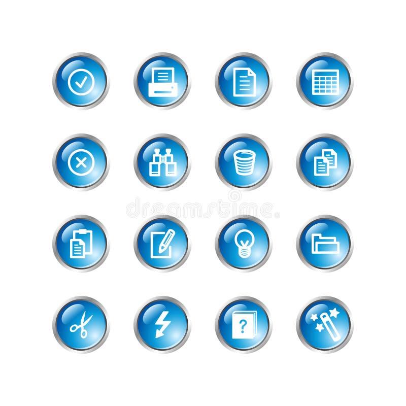 голубые иконы падения документа