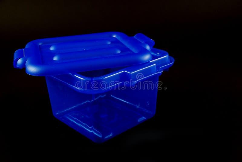 голубые коробки стоковая фотография