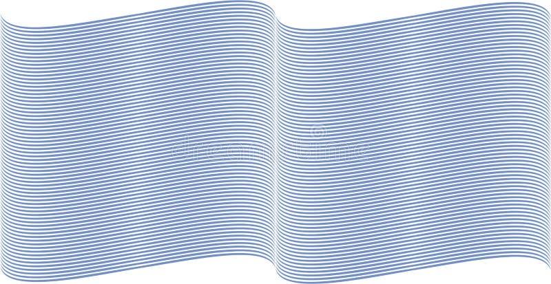 голубые линии волнистые бесплатная иллюстрация