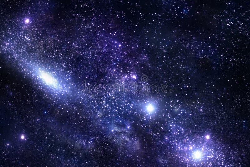 Голубые межзвёздное облако, космос и вселенная бесплатная иллюстрация