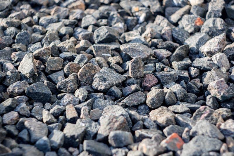 Голубые небольшие камни близко вверх, предпосылка или текстура стоковая фотография