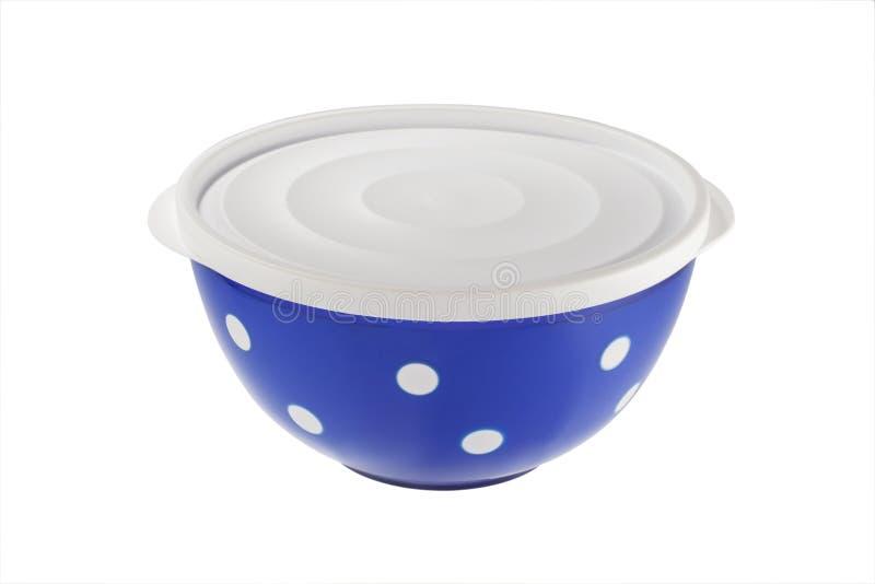 Голубые пластичные шары изолированные на белой предпосылке стоковое фото