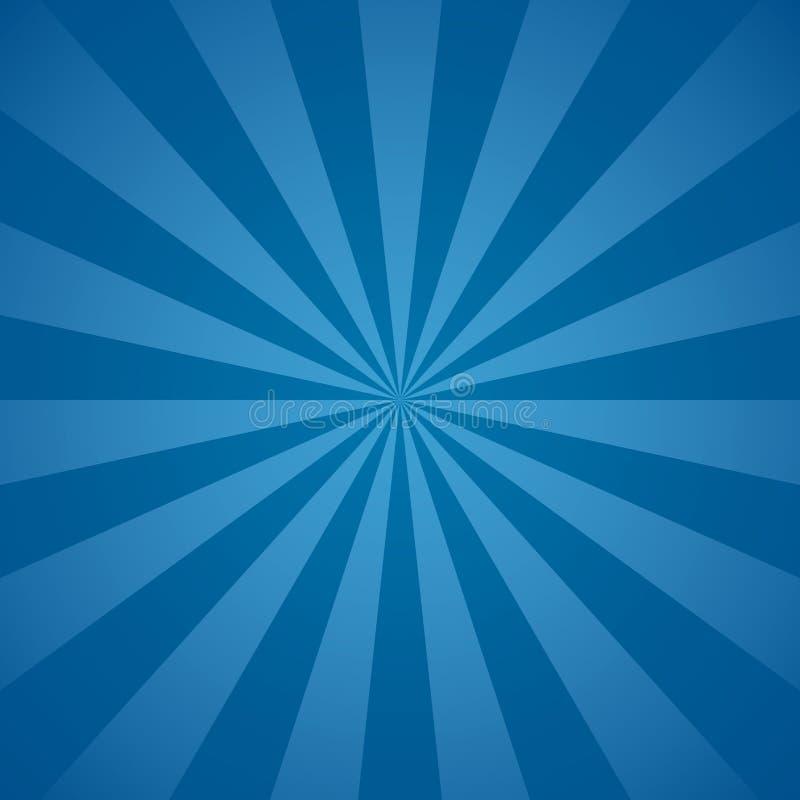 Голубые радиальные лучи и линии предпосылка лучей абстрактные бесплатная иллюстрация