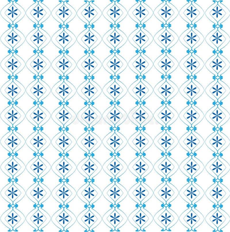 голубые текстуры иллюстрация вектора