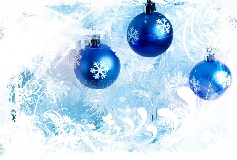 голубые украшения бесплатная иллюстрация