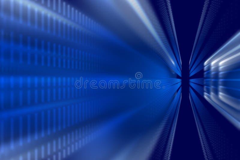 Голубые форма и свет, абстрактная предпосылка бесплатная иллюстрация