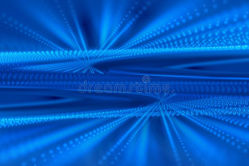 Голубые форма и свет, абстрактная предпосылка иллюстрация штока