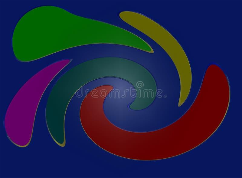 голубые цветы стоковая фотография rf