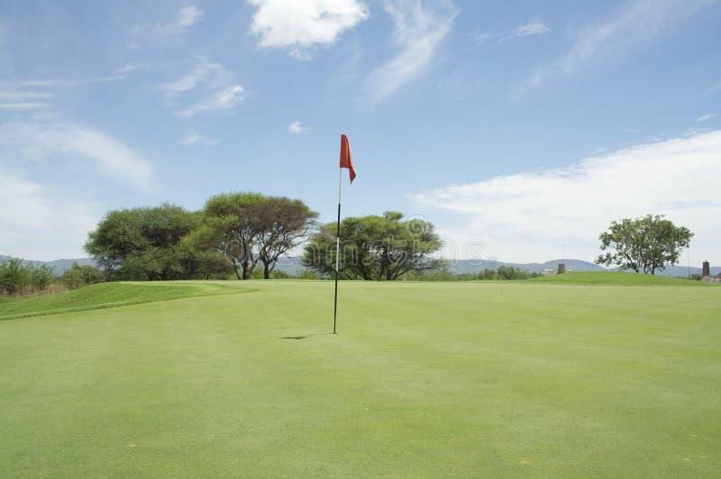 гольф Африки стоковое изображение