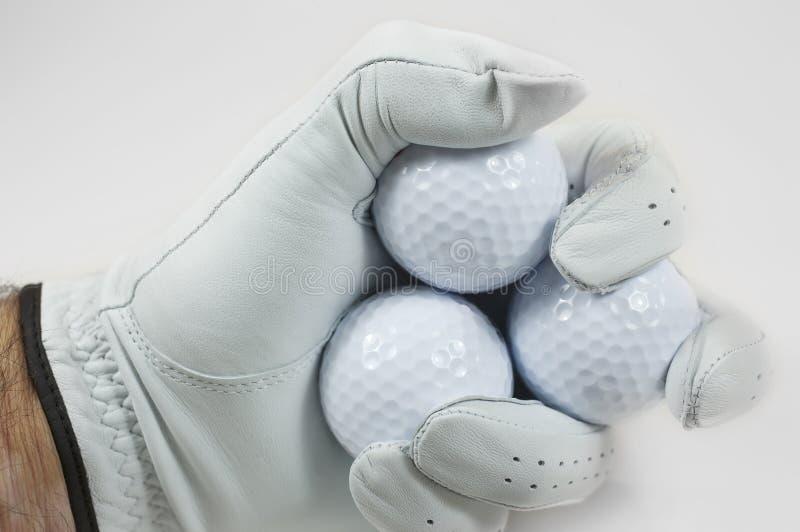 гольф кулачка шариков стоковая фотография