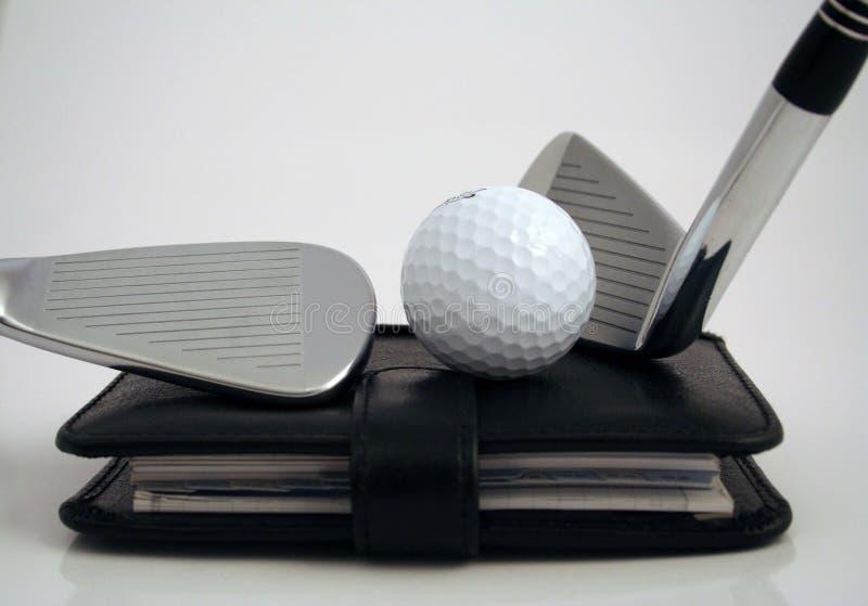 гольф назначения стоковая фотография