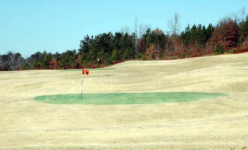 гольф осени стоковое изображение
