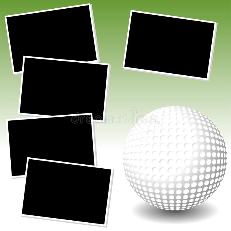 гольф приключения мое фото бесплатная иллюстрация