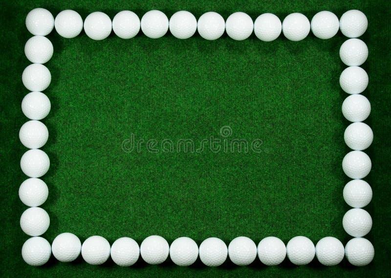 гольф рамки стоковые фотографии rf