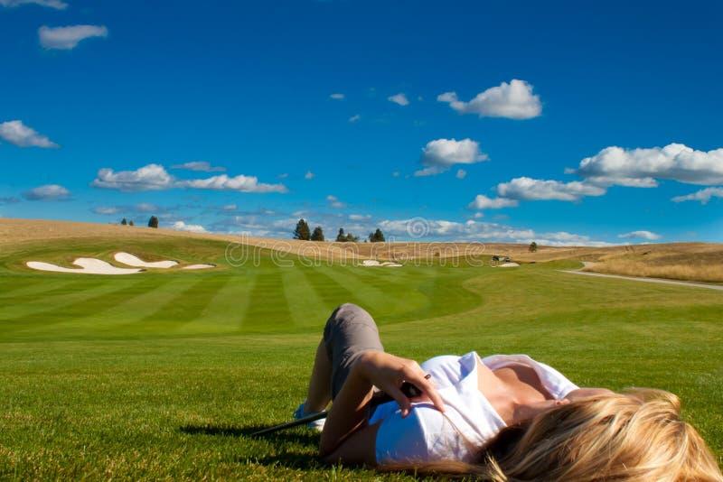 гольф сексуальный стоковые изображения