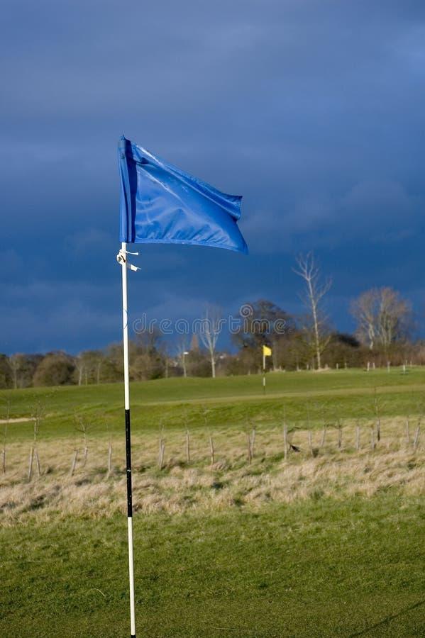 гольф флага Стоковое Фото