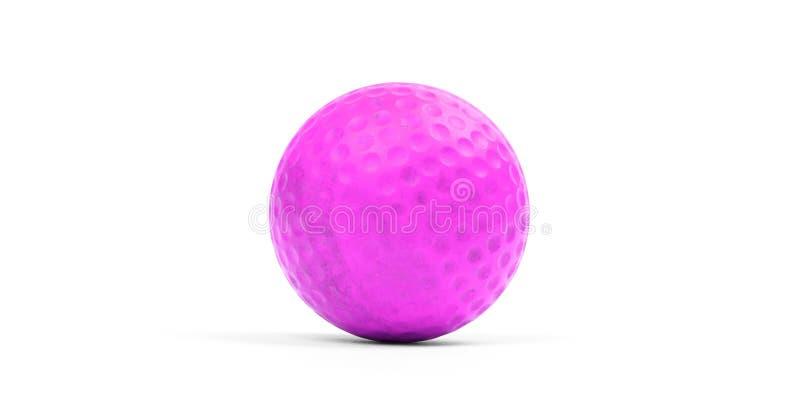 гольф шарика близкий вверх стоковое изображение rf