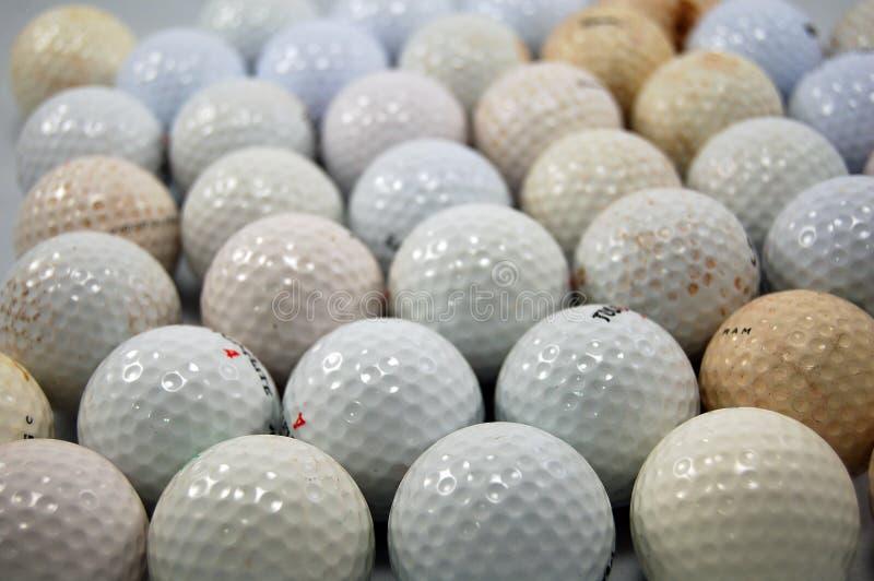 гольф шариков пакостный стоковое фото