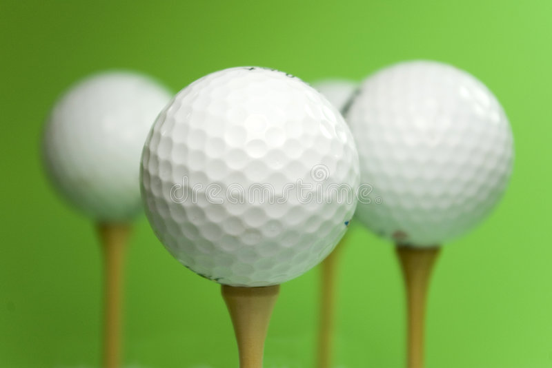 гольф шариков стоковое изображение rf