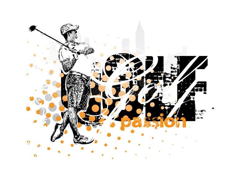 гольф бесплатная иллюстрация