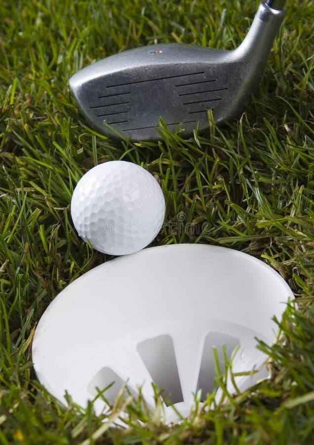 Download гольф стоковое фото. изображение насчитывающей отверстие - 6858752
