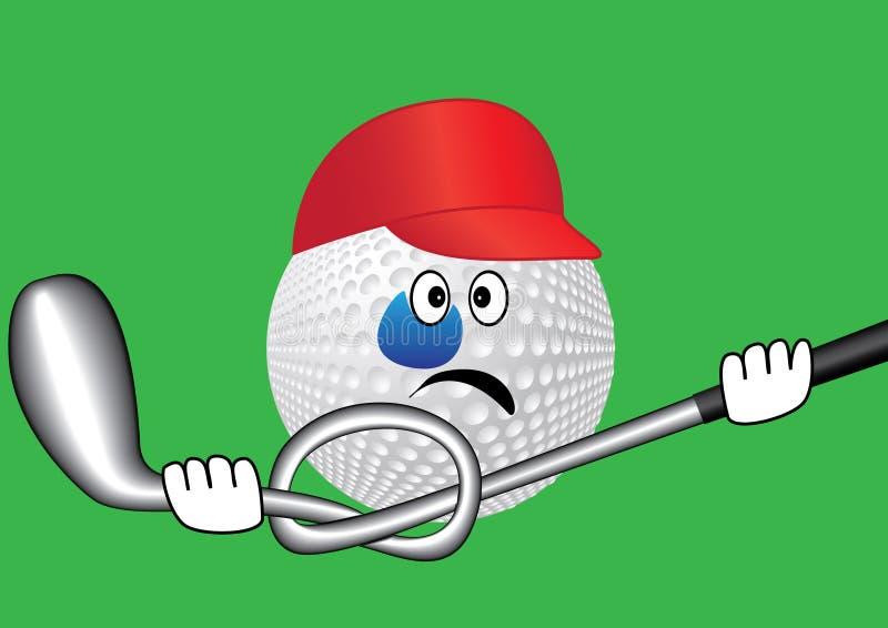 гольф иллюстрация штока