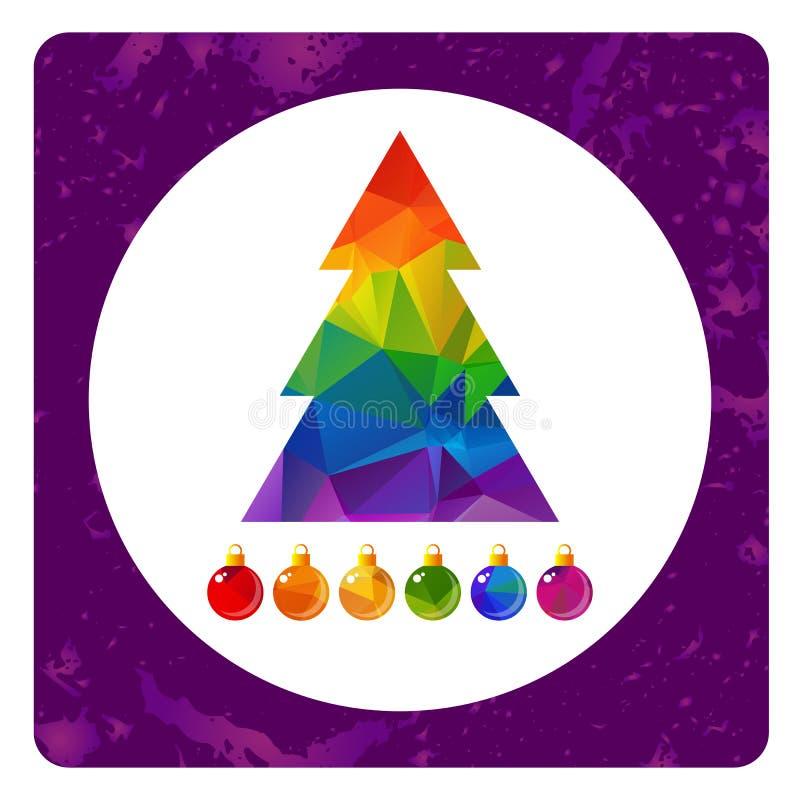Гомосексуалист christmas-14 иллюстрация штока