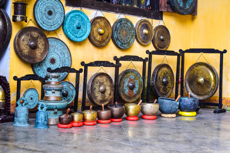 Гонг Вьетнам в Hoi стоковая фотография rf