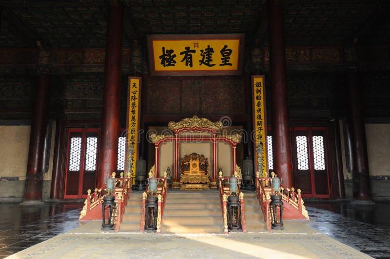 гонг запрещенный городом gu zhonghedian стоковые изображения