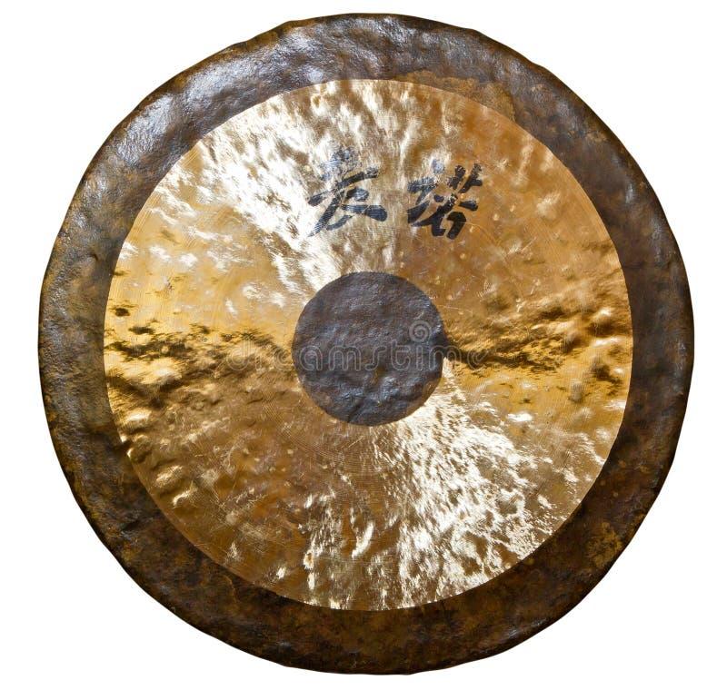 Гонг стоковое изображение