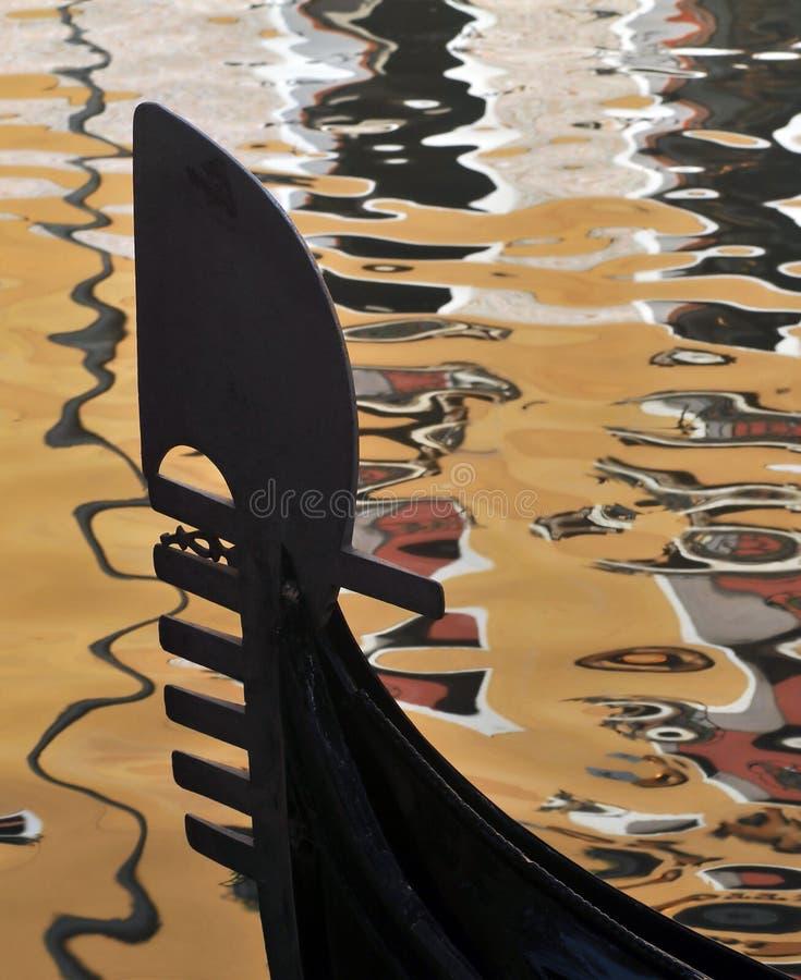 гондола смычка стоковое фото rf