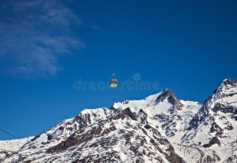 Гондола с голубым небом стоковое фото