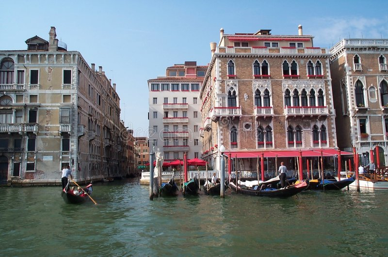 гондола Venice Стоковое Изображение
