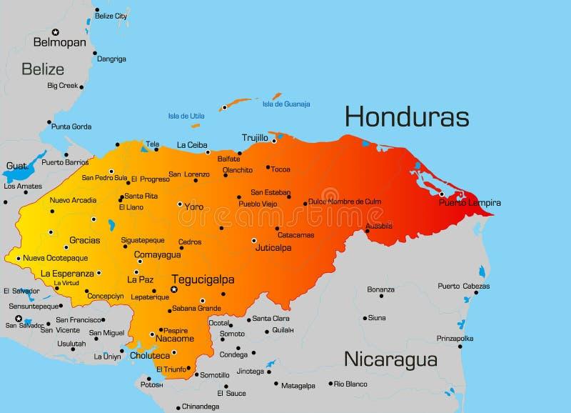 Гондурас иллюстрация штока