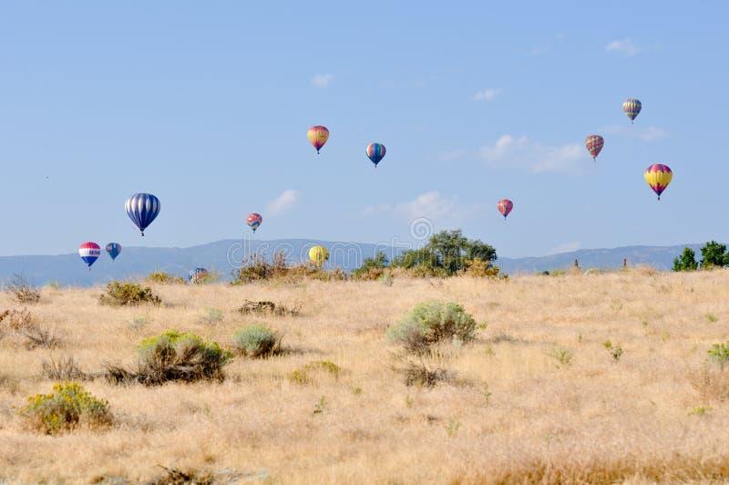 гонка reno воздушного шара большая горячая стоковые фотографии rf