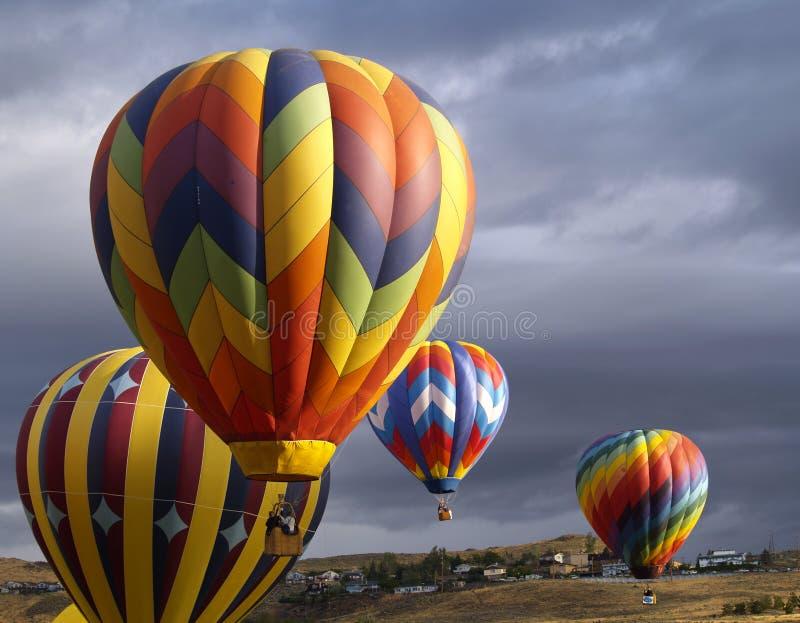 гонка Reno 2005 воздушных шаров большая Стоковая Фотография