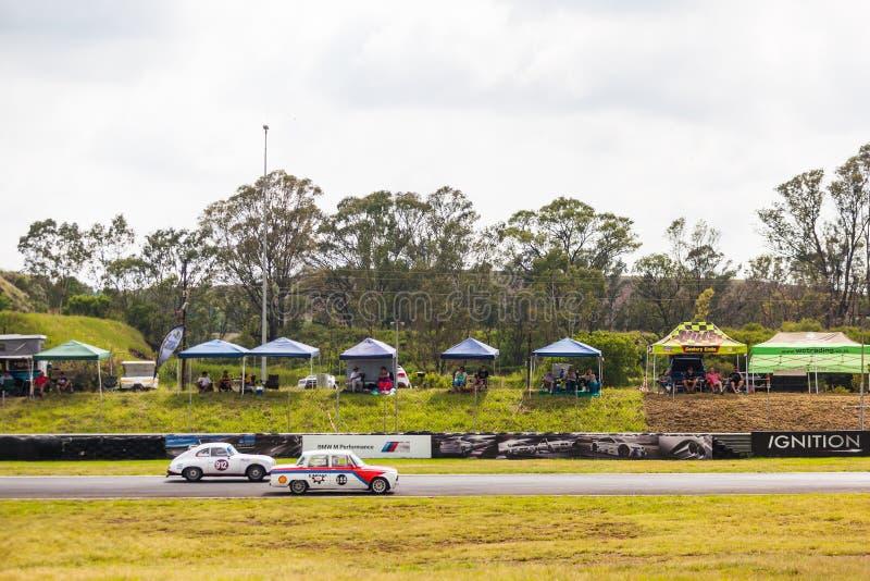 Гонки автомобилей на zwartkops стоковые фото