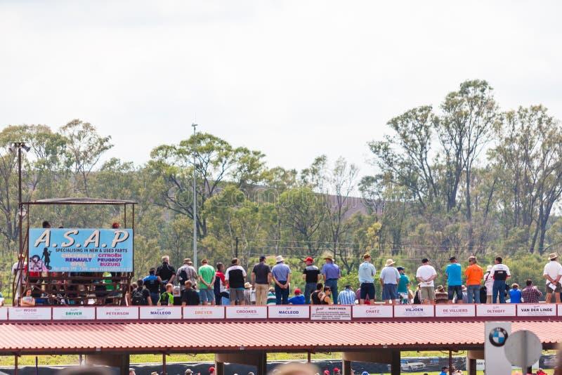 Гонки автомобилей на zwartkops стоковое изображение