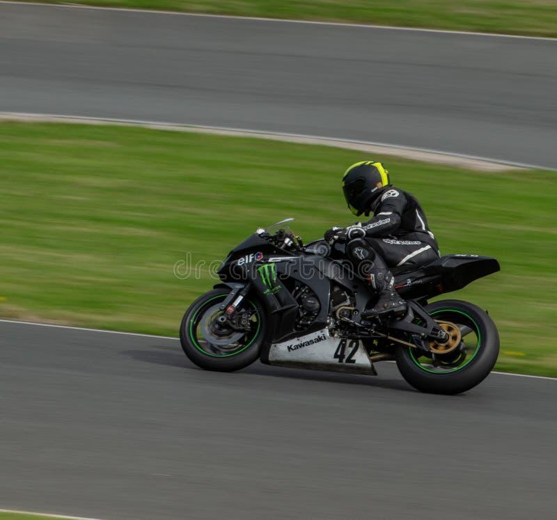 Гонки мотоцикла парка Mallory стоковые фото
