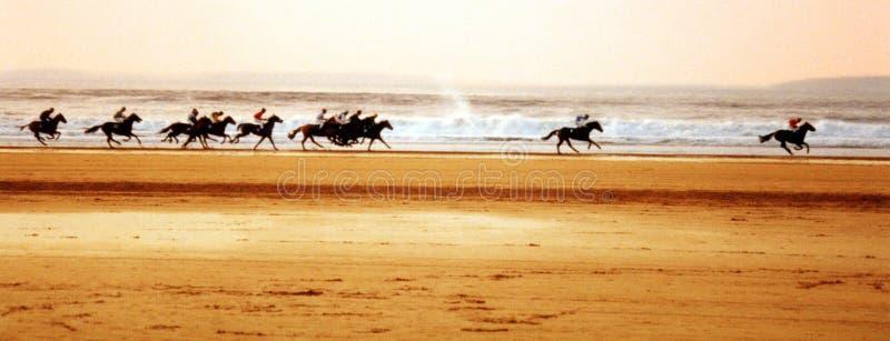 гонки пляжа стоковые фото