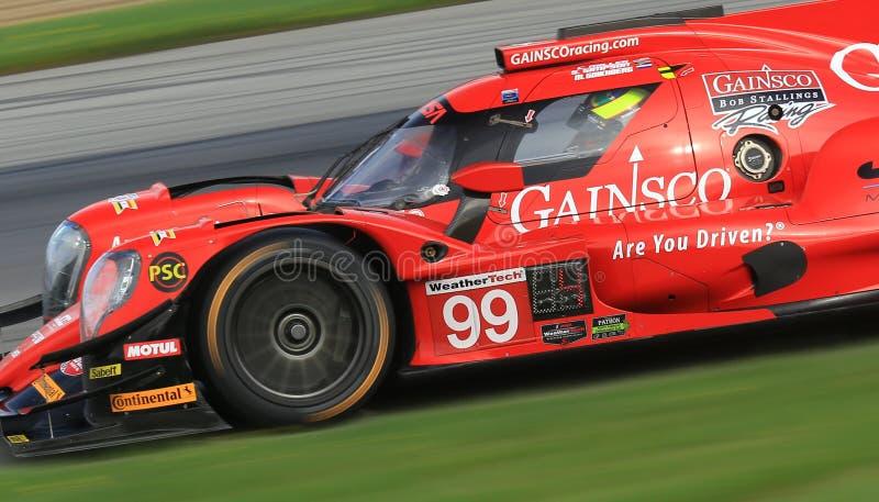 Гонки Motorsports дракона Gainsco красные стоковые фотографии rf