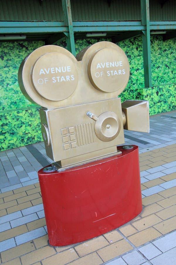 Гонконг бульвар звезд стоковые изображения