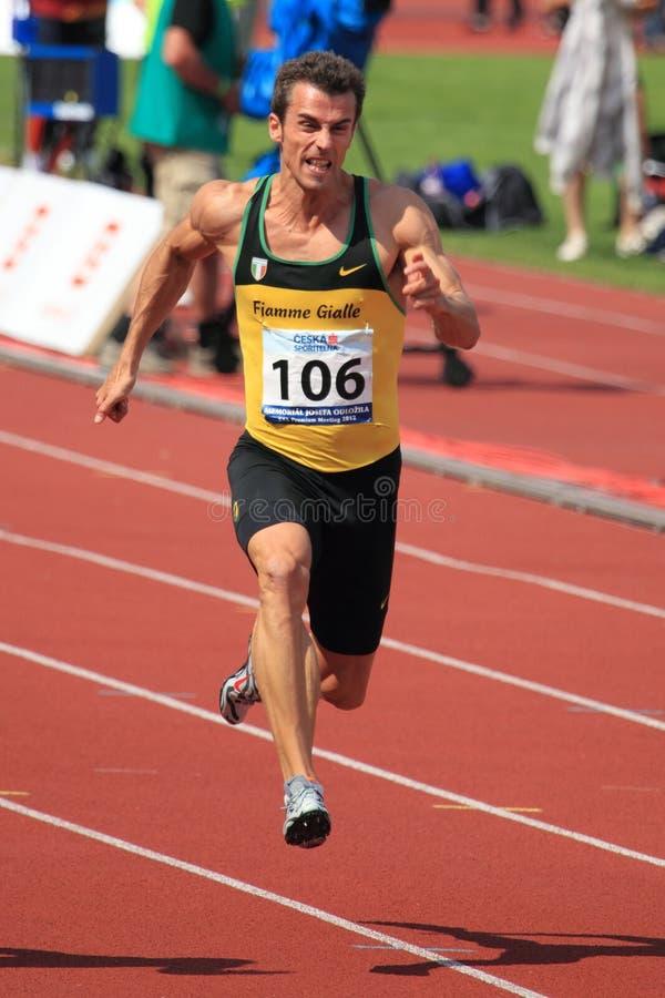 гонок prague 100 2012 метров fabio cerutti стоковое фото rf